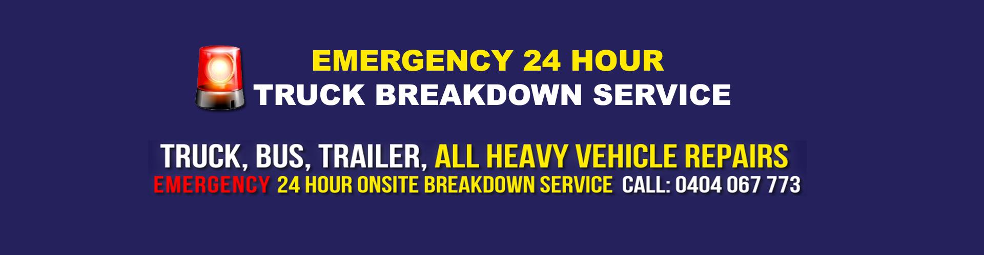 24 Hour Mobile Truck Mechanic Sydney