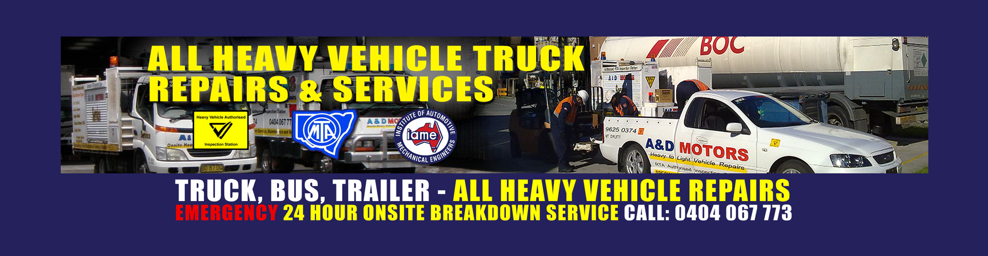24 Hour Mobile Truck Repairs Sydney